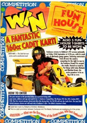 Fun house prizes to be won lyrics future